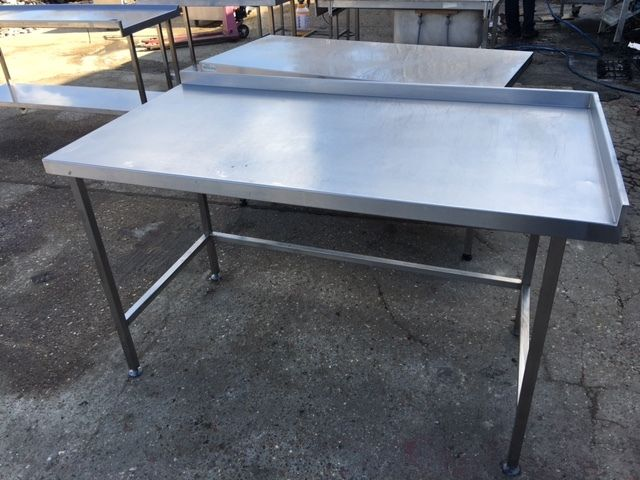 Ss Commercial : COMMERCIAL STAINLESS STEEL TABLE GOOD FOR DISHWASHER OR FRIDGE eBay