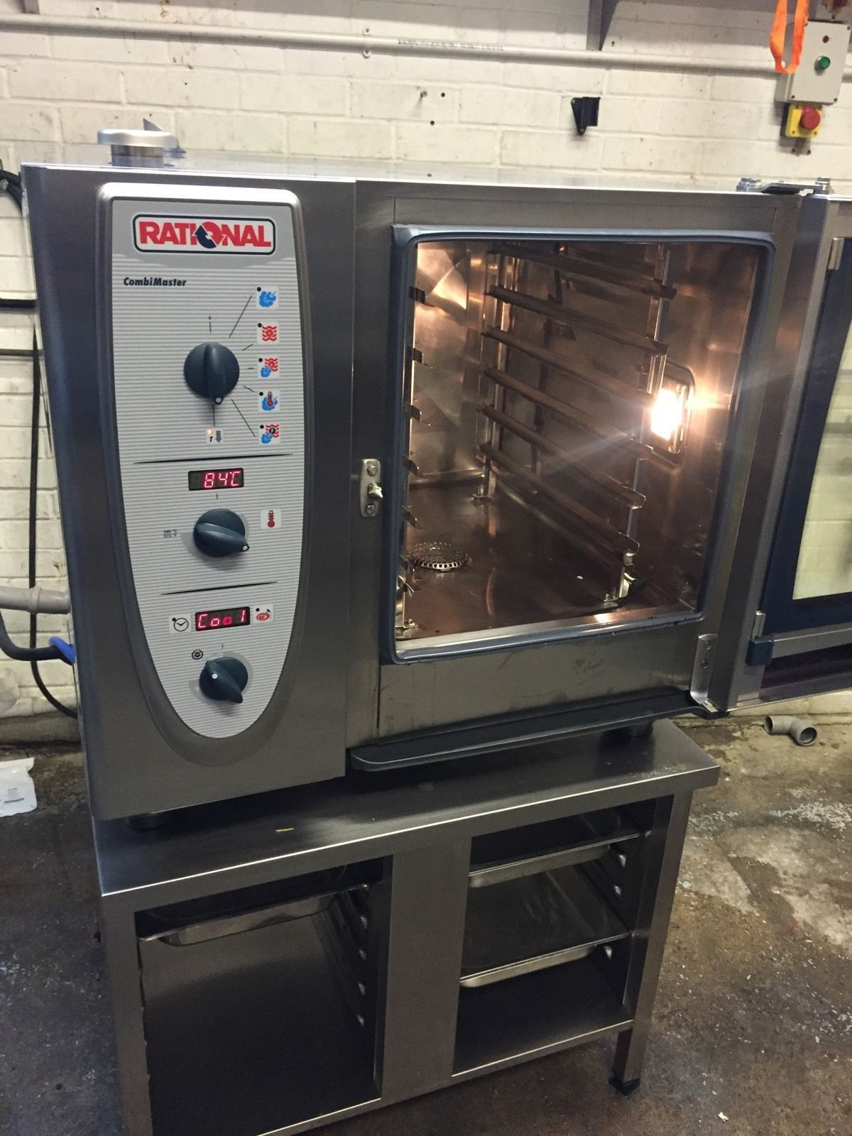 rational cm 61 combimaster 6 grid peri peri 1 phase used rational catering equipment. Black Bedroom Furniture Sets. Home Design Ideas