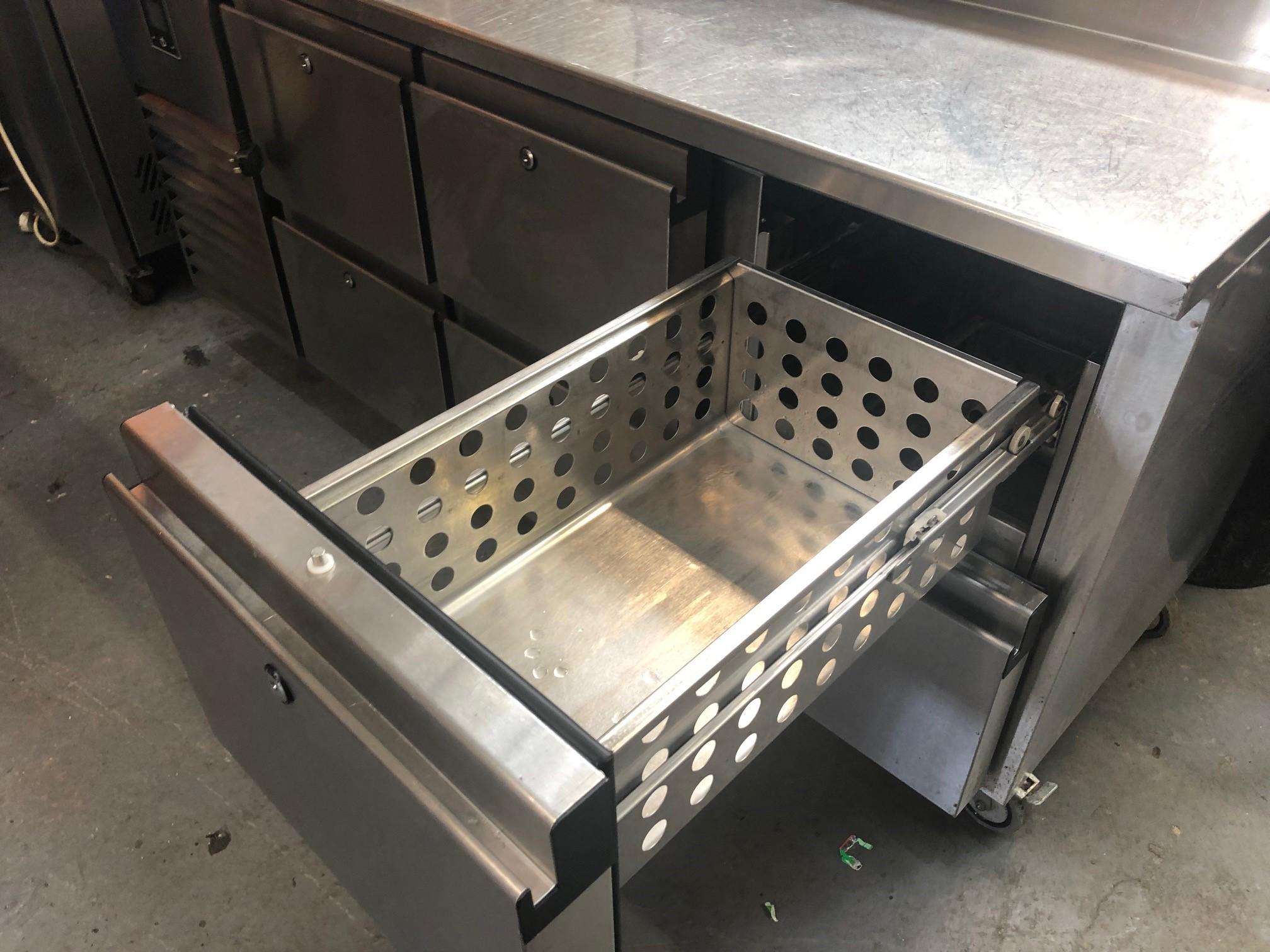 Precision Gastronome Counter Mcu311 Salad Pizza Fridge