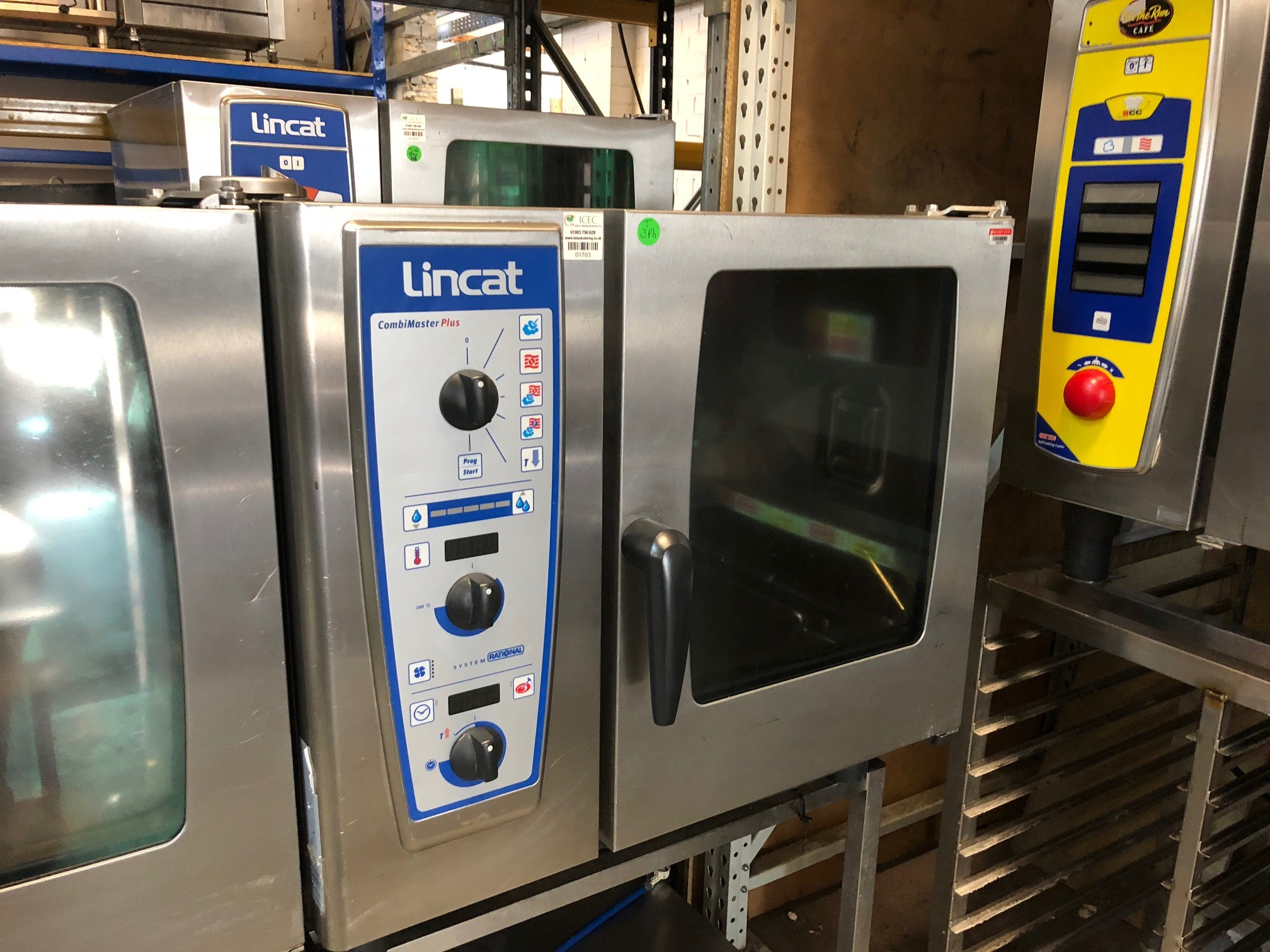 Lincat by Rational Electric Single Phase/40AMP care master plus 6 grid