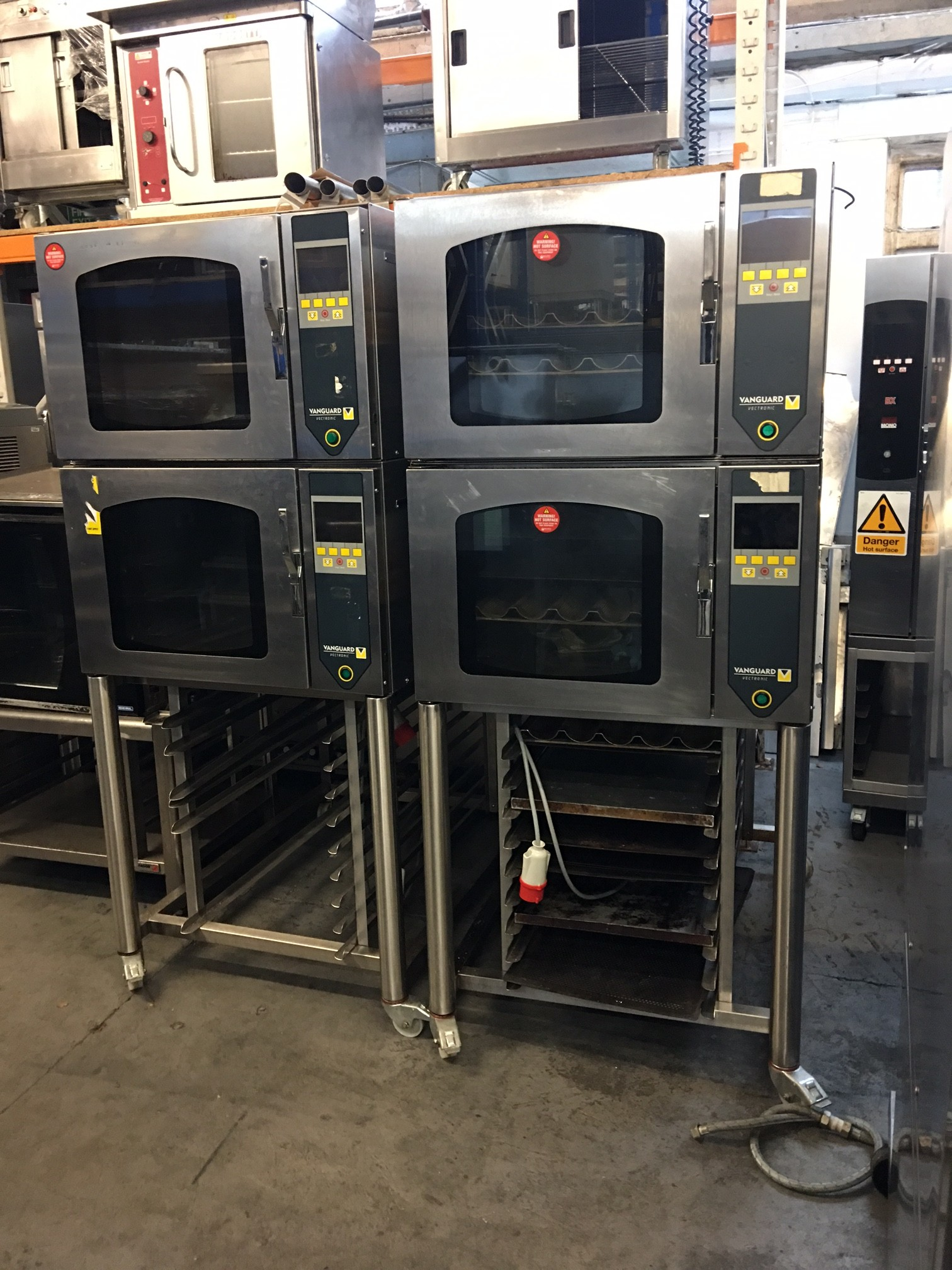 Vanguard Vectronic Double Bread Oven Model No Fg159 With