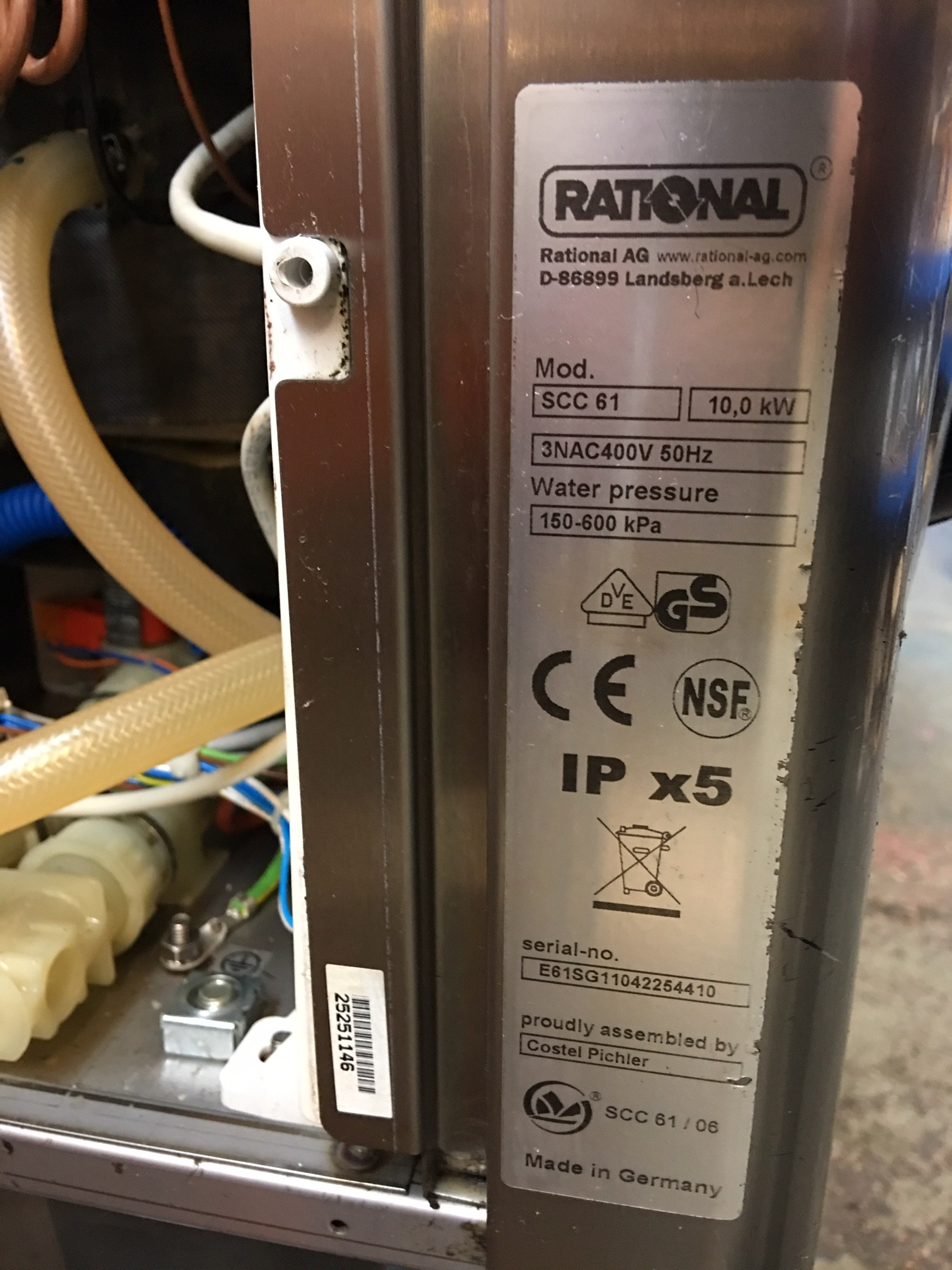 rational scc we 61 parts manual