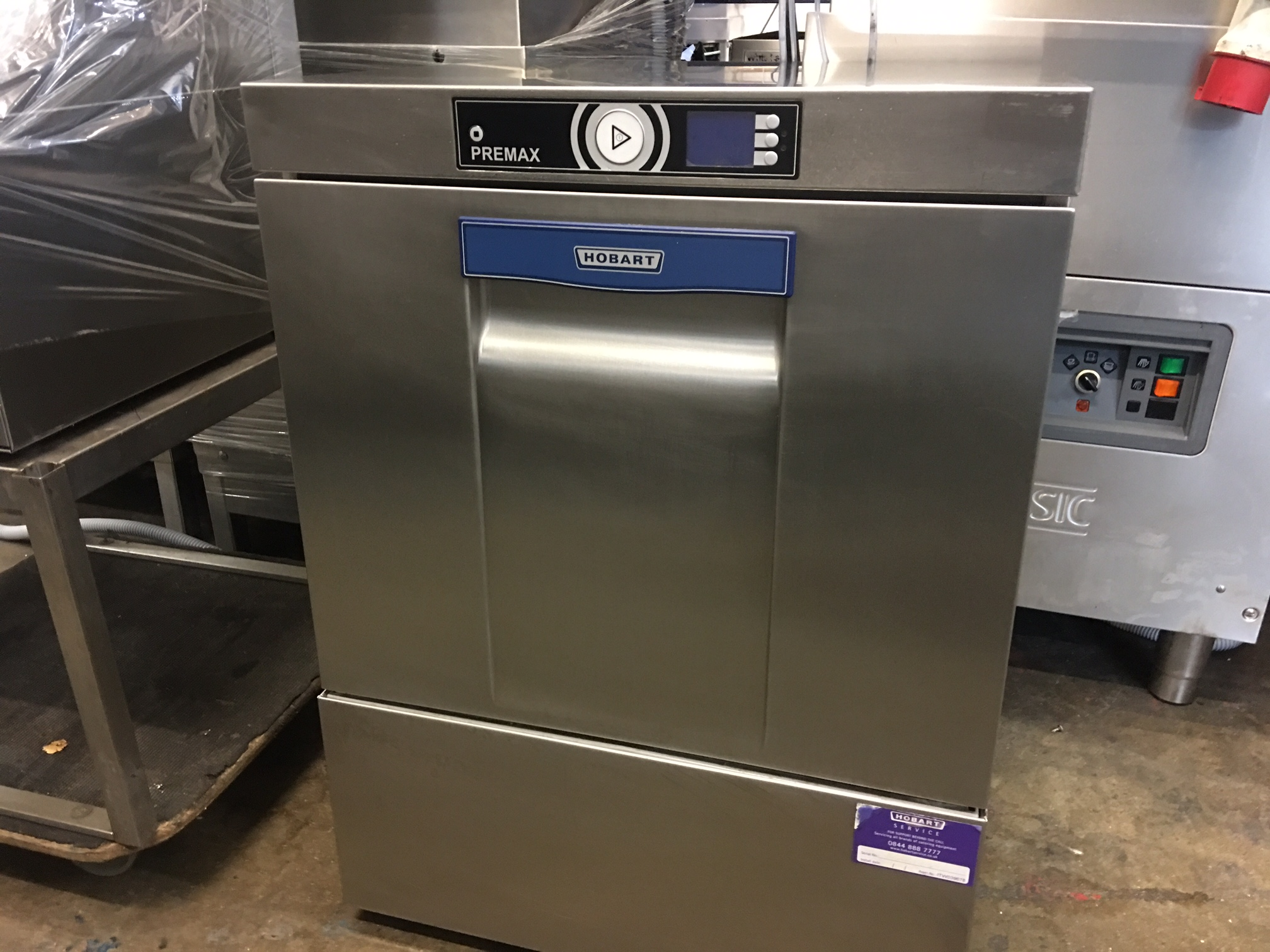 Pre Max Hobart Under Counter Dishwasher 2014 model (we have 2 of these in  stock)