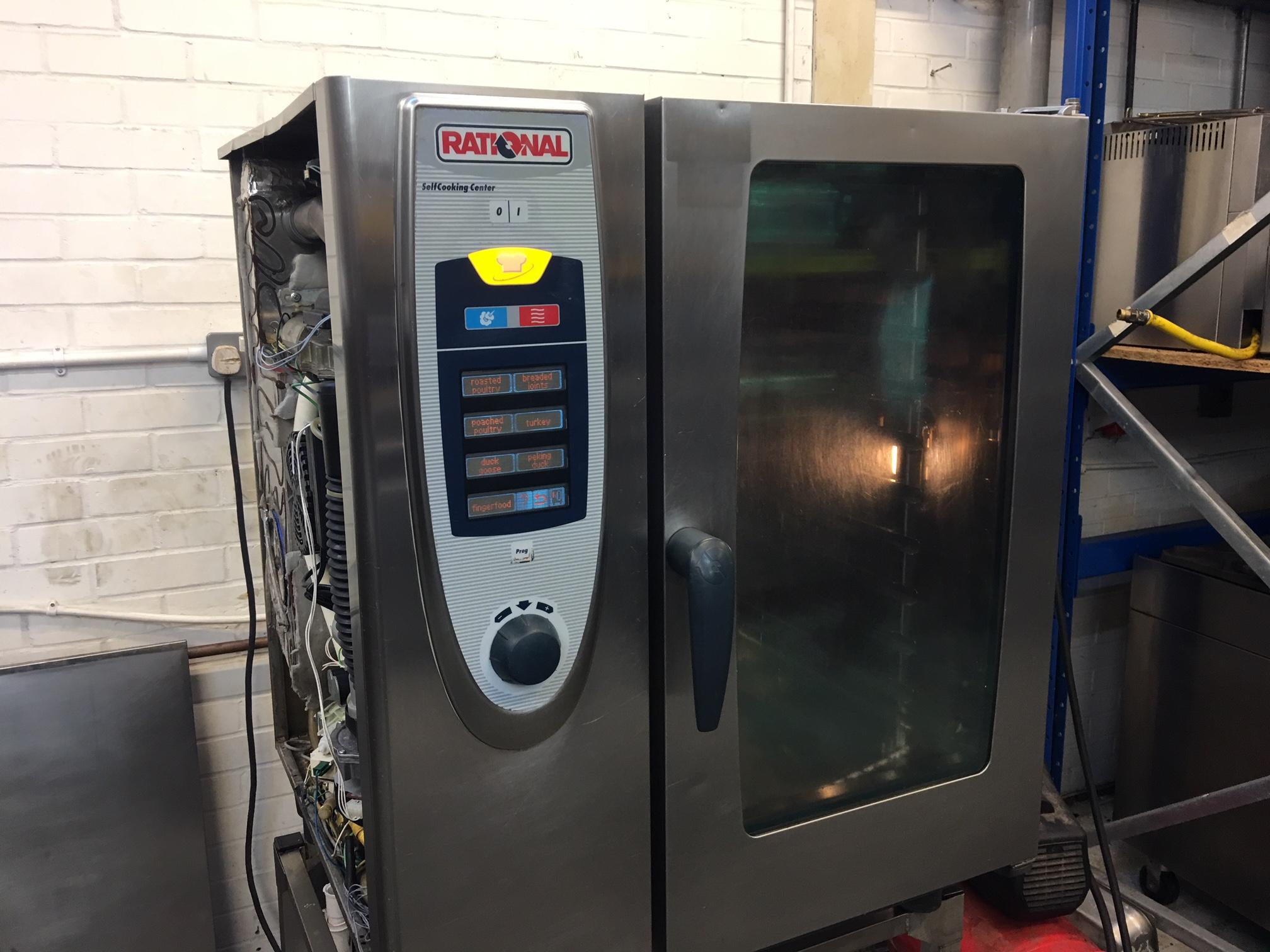 Rational 10 Grid  SCC101E  Oven,  combi oven 3 phase peri peri oven