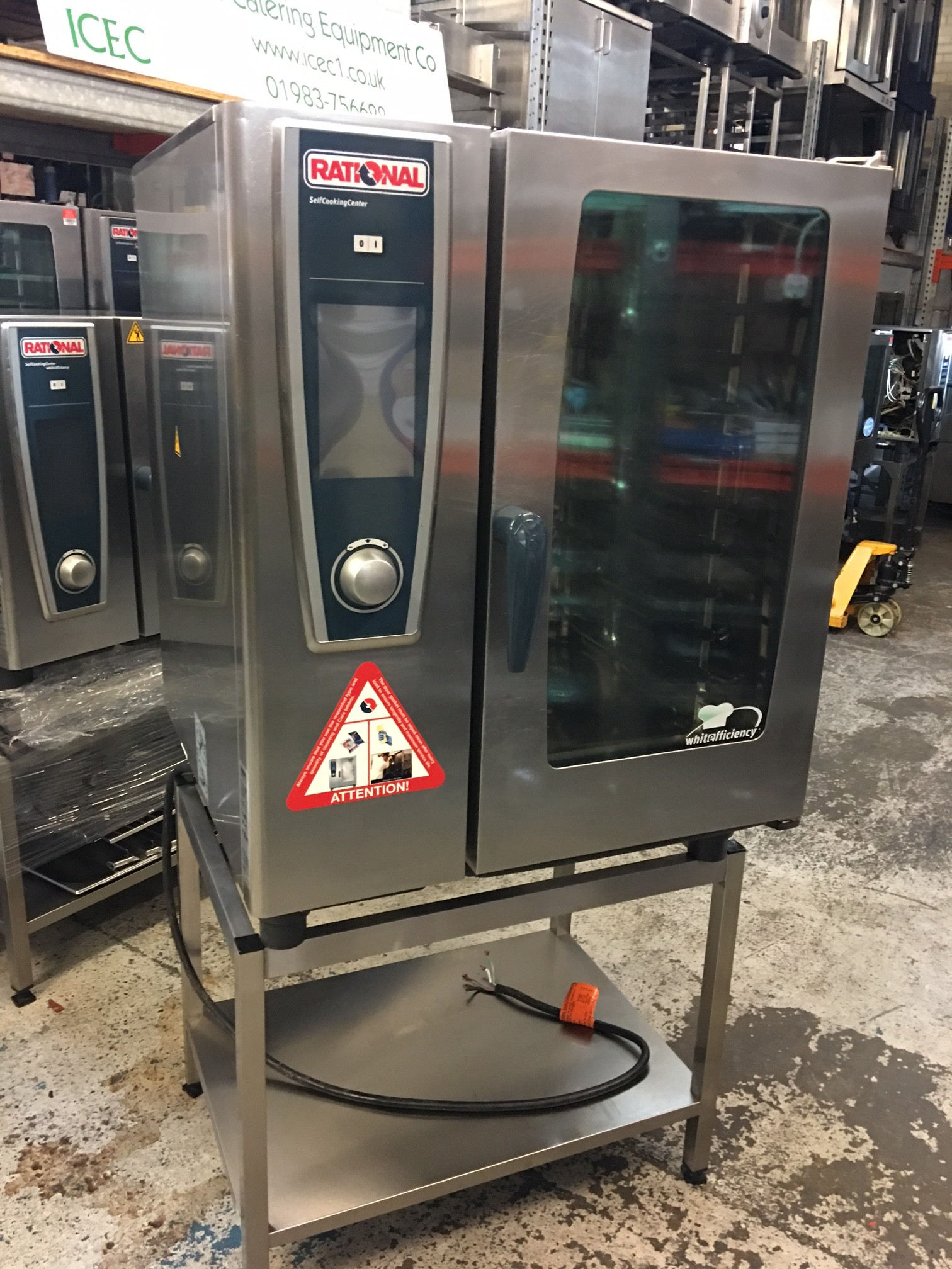 how to clean a rational combi oven