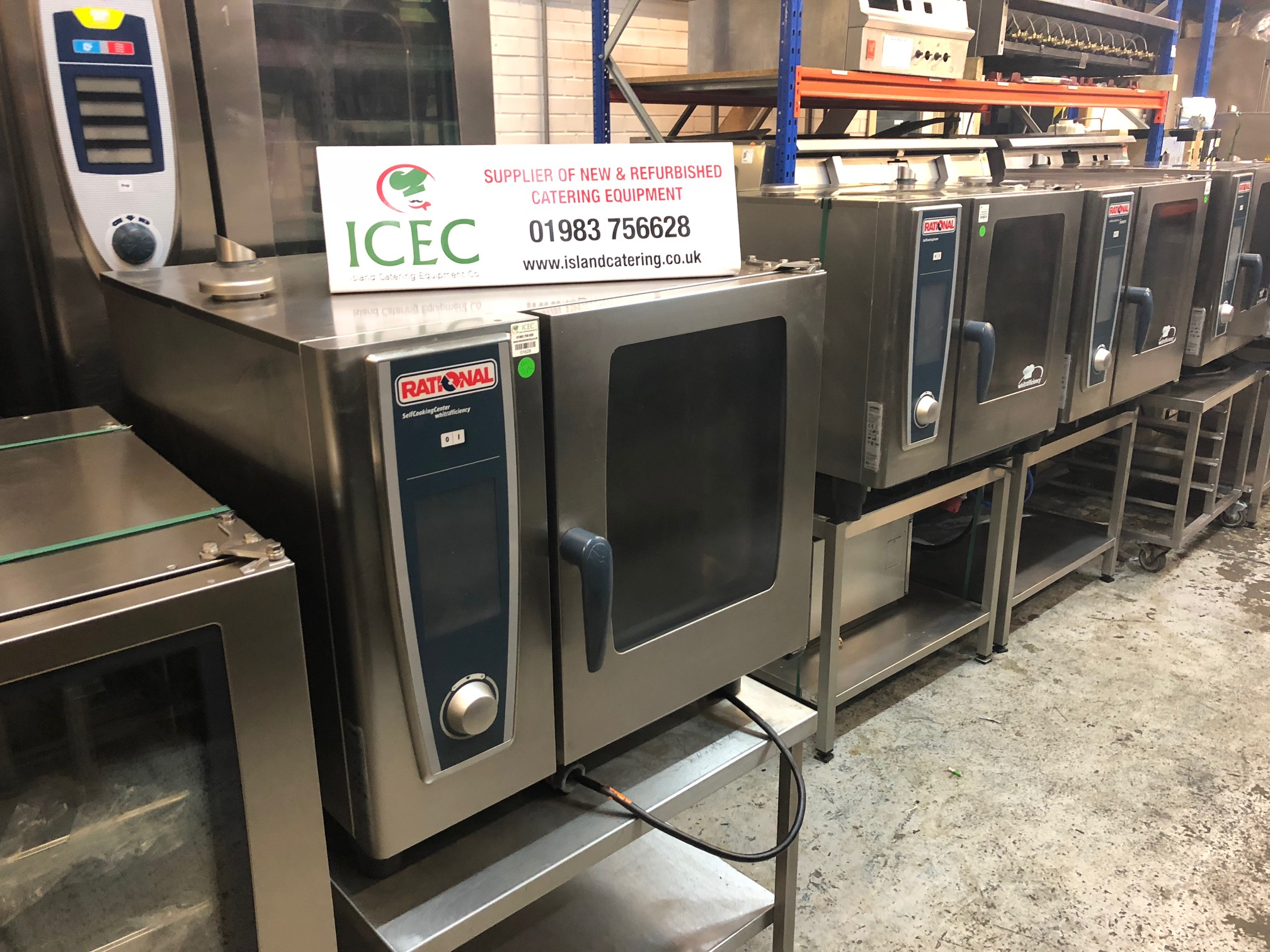 operating manual for rational electric whiteffecincy 5 sencers we 6 rh usedrational co uk 62G Rational Ovens Rational Oven Cleaning Tablets