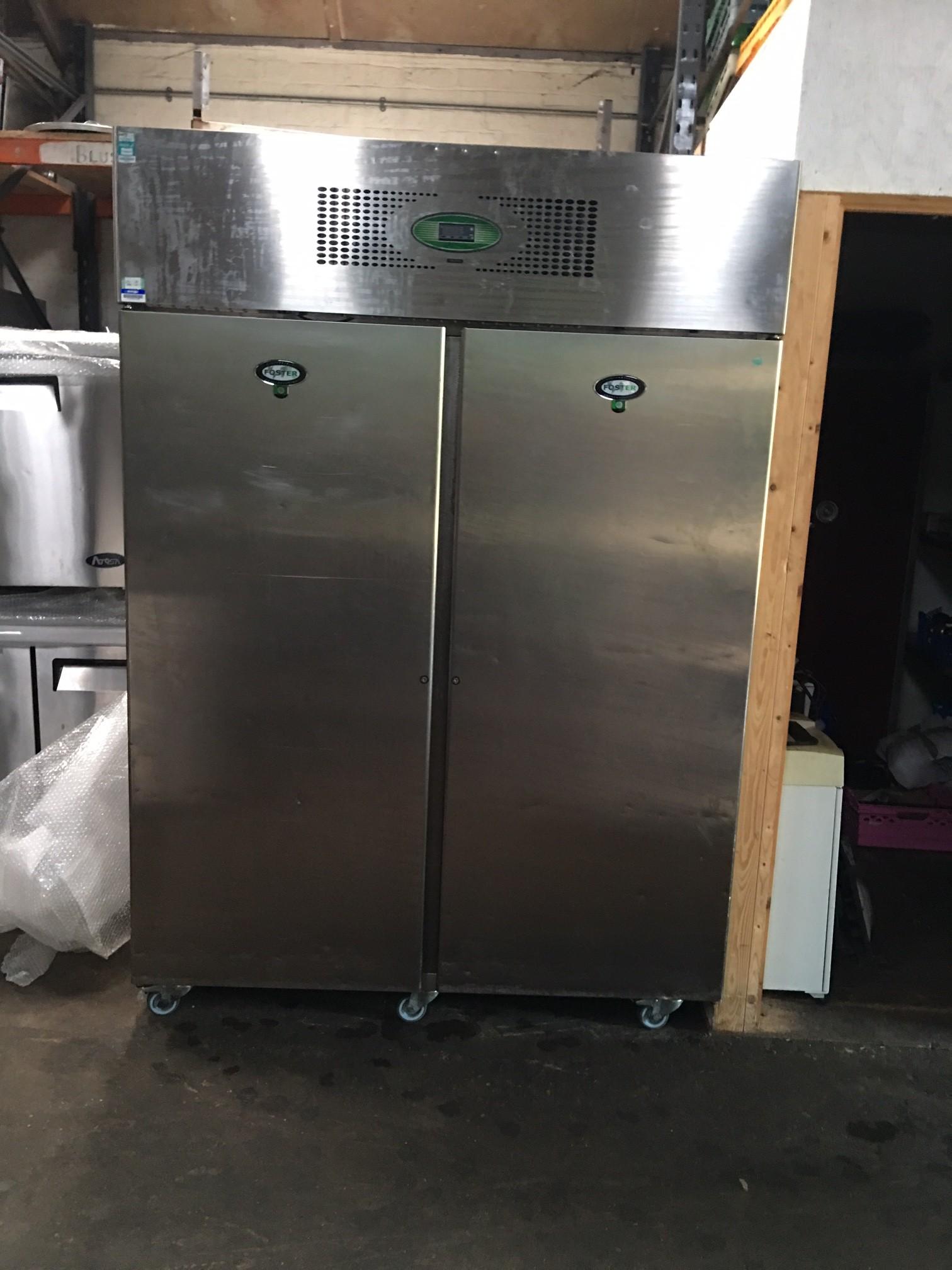Foster 1 Door Freezer Stainless Steel Tall Standing 163 850