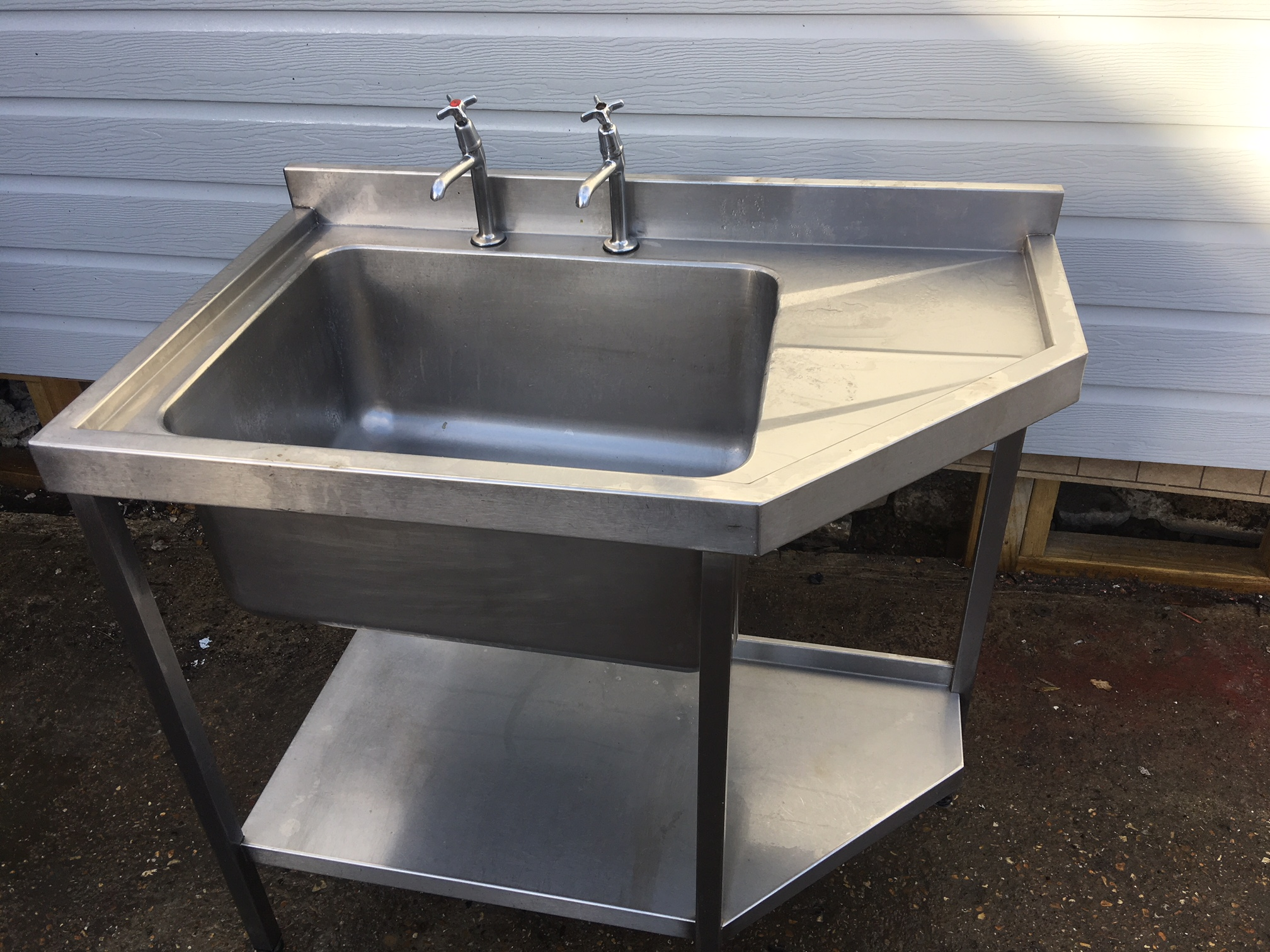 used commercial kitchen sinks stainless steel stainless steel sink single bowl used 9558