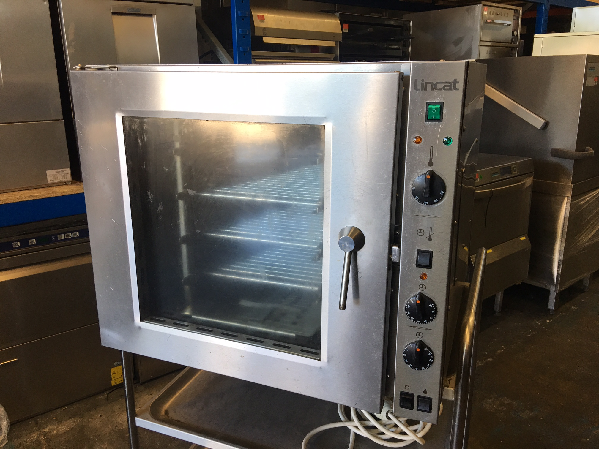 Lincat 99 Ltr Counter Top Convection Oven Steamer Peri