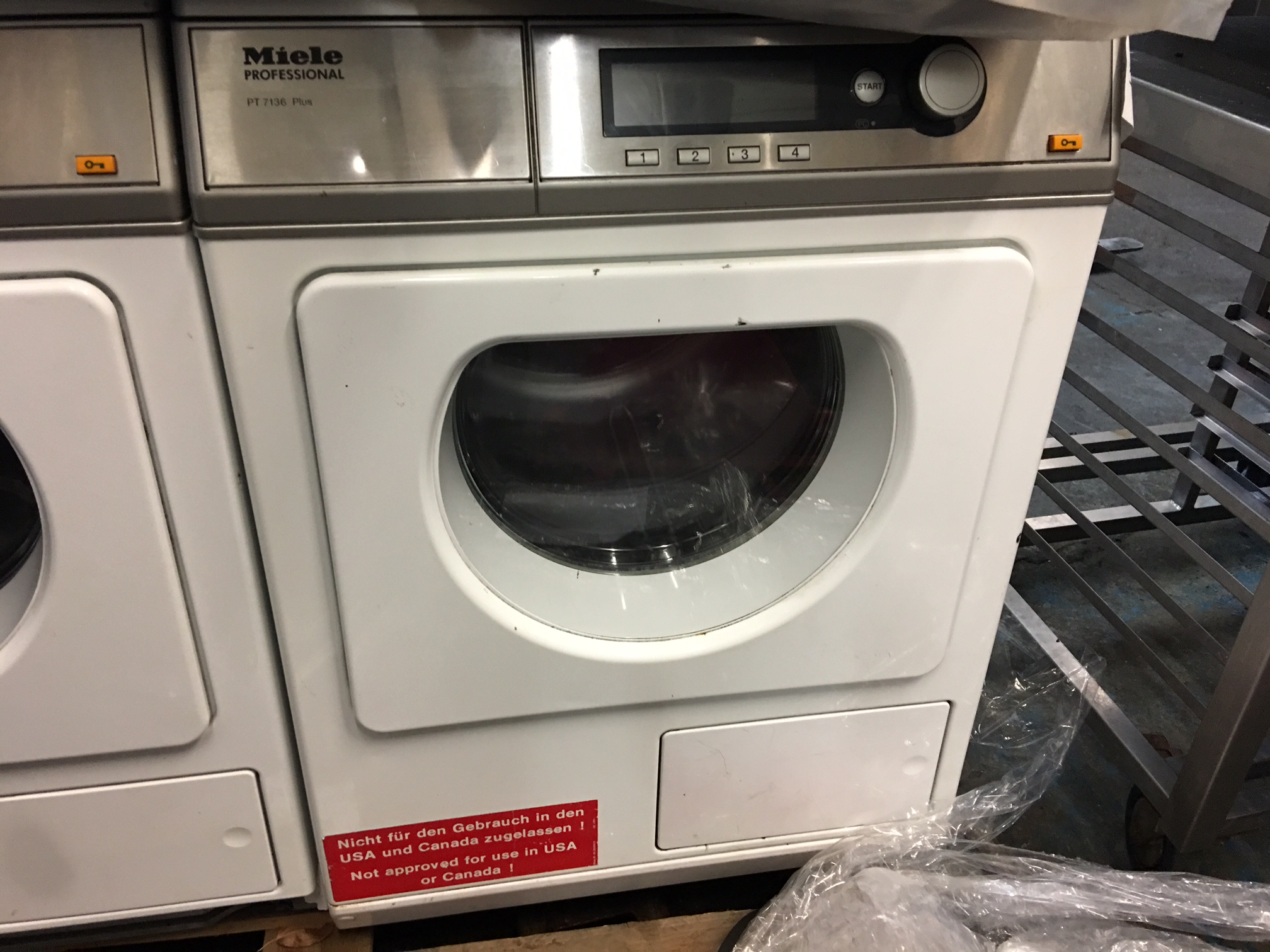 miele professional pt7136 vario tumble dryer 3 phase. Black Bedroom Furniture Sets. Home Design Ideas