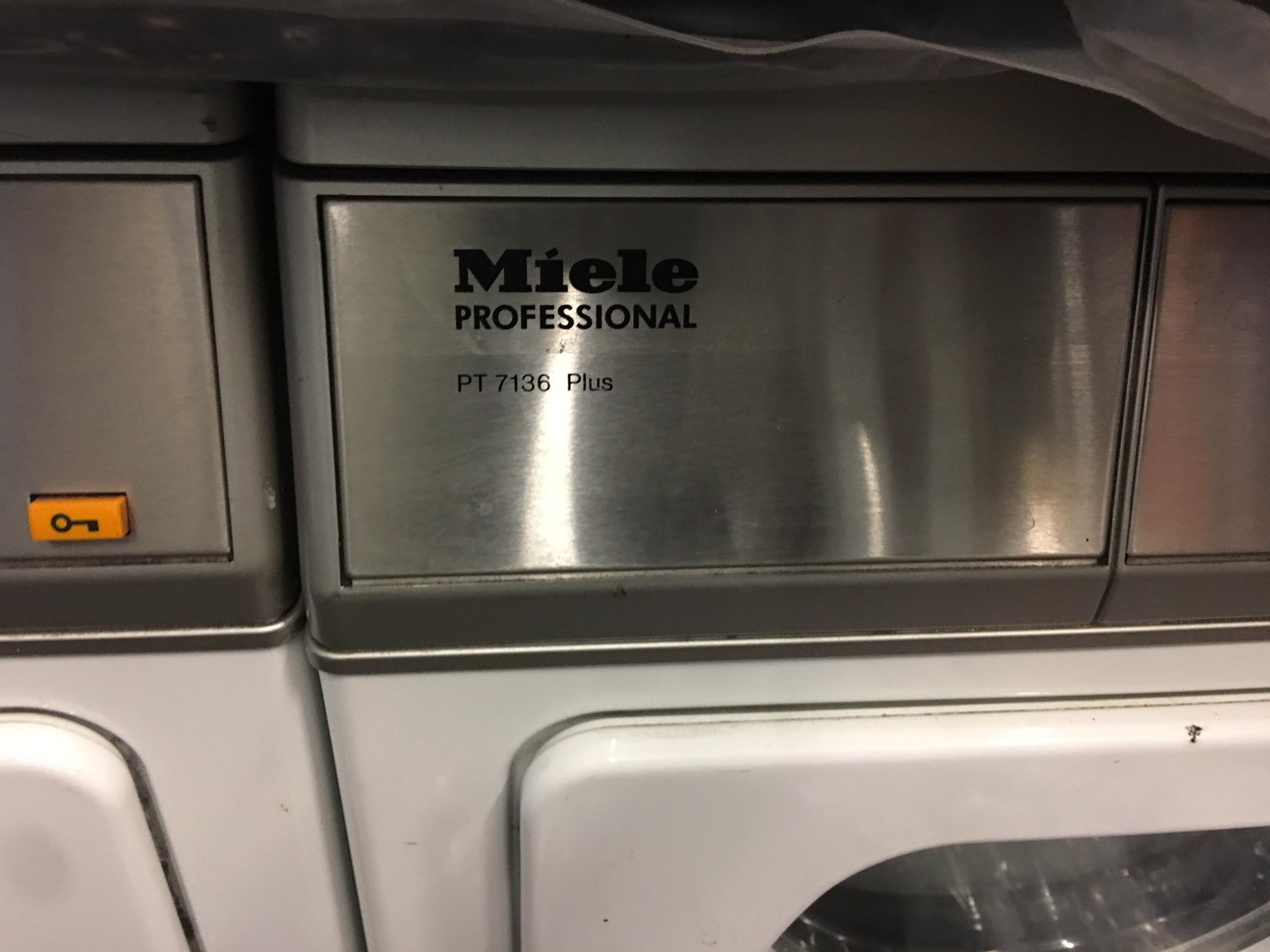 Miele professional pt7136 vario tumble dryer 3 phase - Miele professional ...