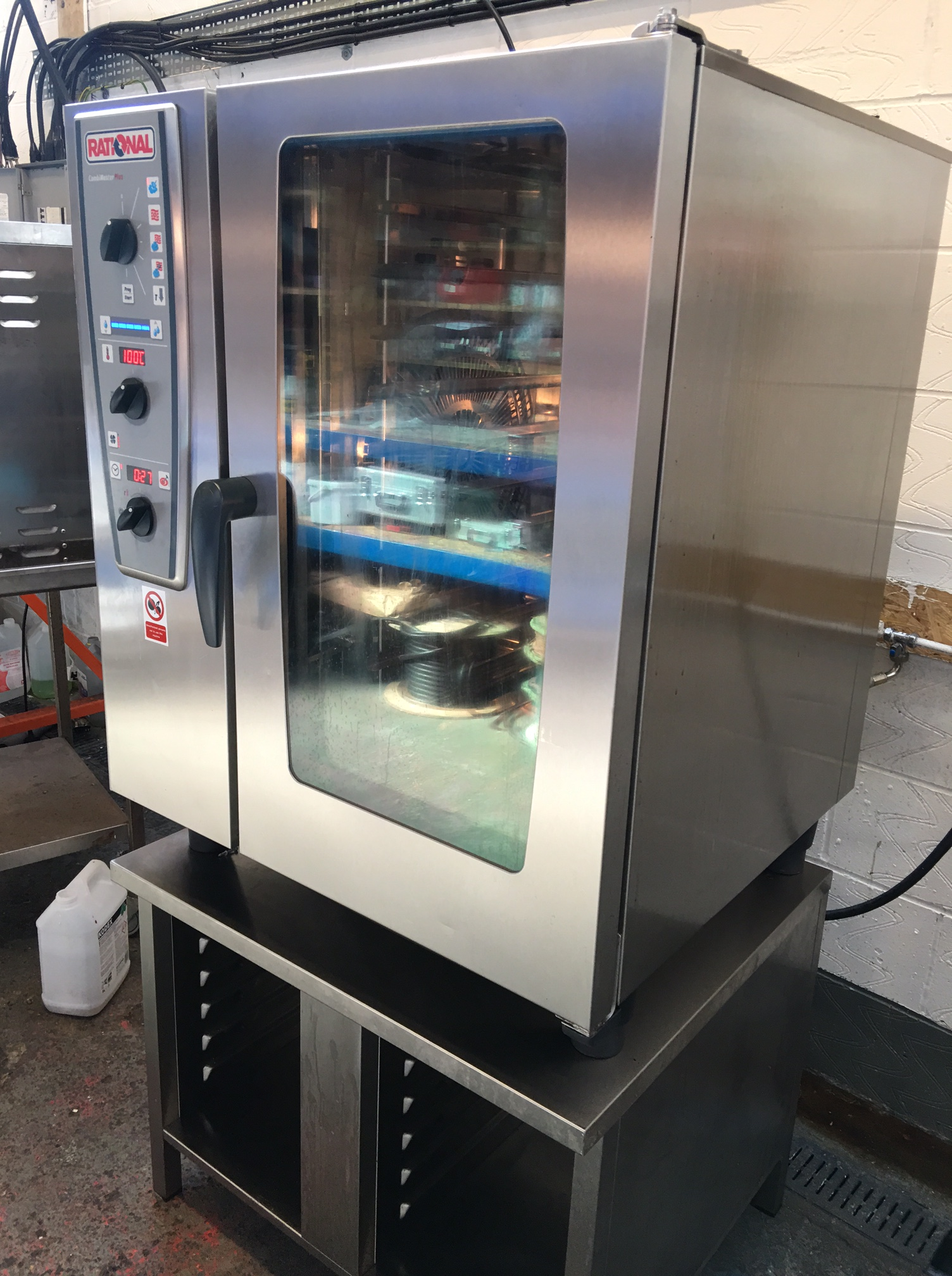 Rational Combi Oven 10 Grid Electric Cmp101 2013