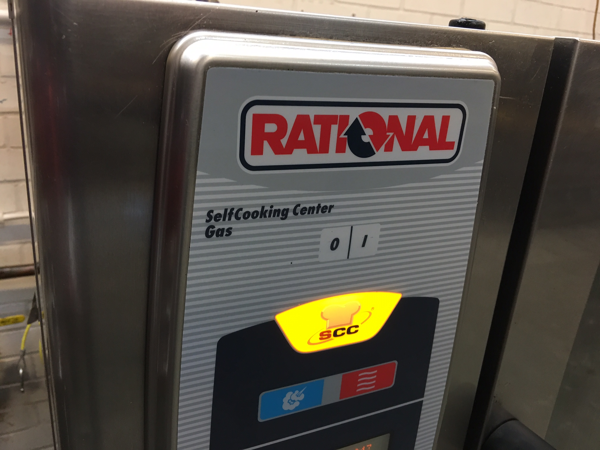 Rational SCC101G Gas Combi Oven , fully serviced with new fan motor, 70 rational ovens in stock