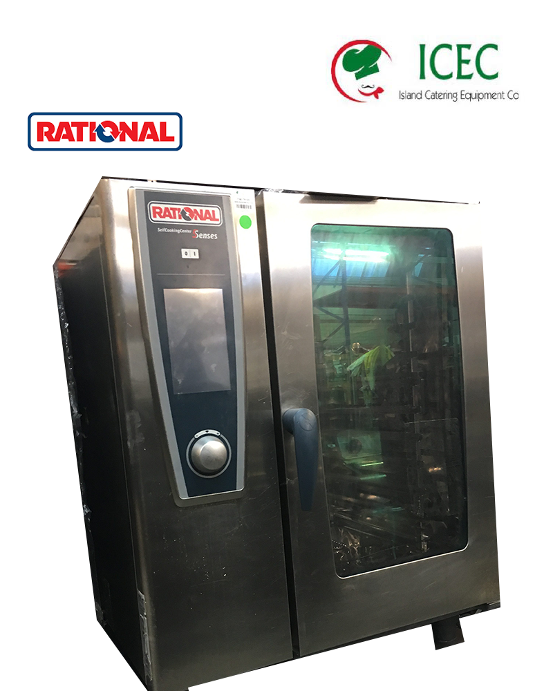 Rational Combi Oven 10 Grid Electric Scc We101 Oven Used Rational Catering Equipment