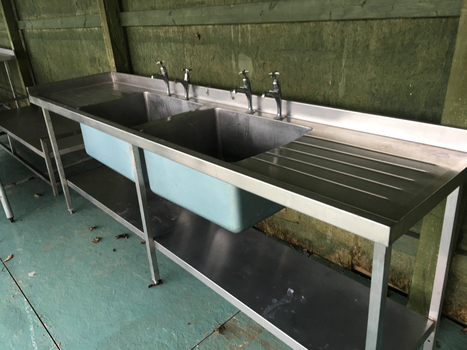 Stainless Steel Tables Sinks Used Rational Catering