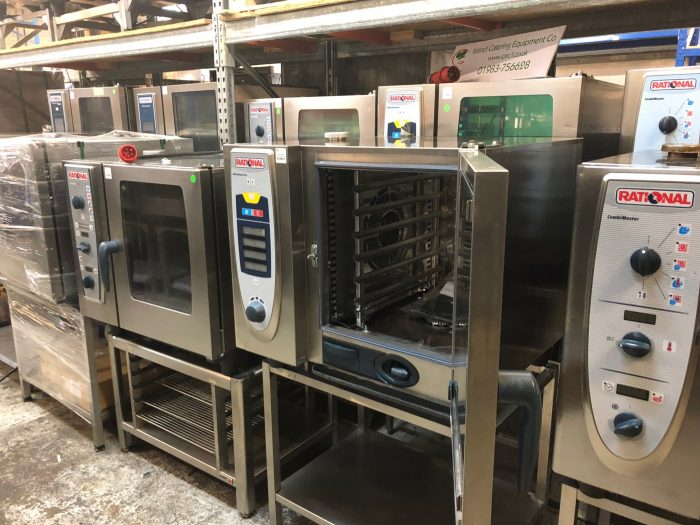 Rational Scc Combi Oven Self Cooking Center Electric 3 Phase Care